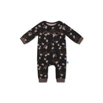 meisjes pyjama black + aop