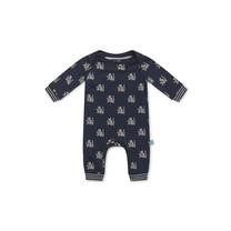 jongens pyjama navy + aop