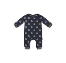 Charlie Choe jongens pyjama navy + aop