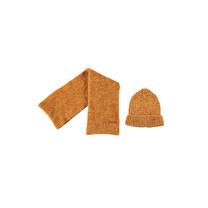 muts + sjaal warm mustard