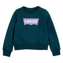 meisjes trui key item logo crew deep teal