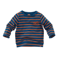 newborn longsleeve Pittsburgh bluebird/copper blush