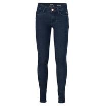 meisjes spijkerbroek Jill dark blue flex skinny fit