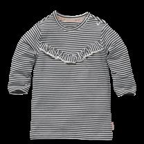 jurkje Zany off white stripe