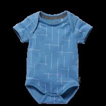 romper Zavier blue square