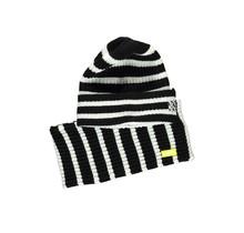 B.Nosy jongens muts + colsjaal striped black