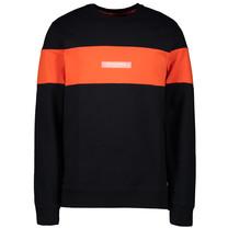 jongens trui Sling orange black