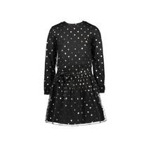 jurk leopard dots black