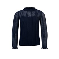 blouse lace midnight