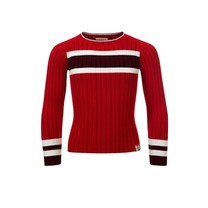 trui knitted scarlet red