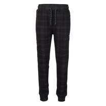 jongens joggingbroek check black