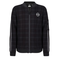 jongens vest check black