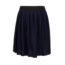 rok pleated night navy