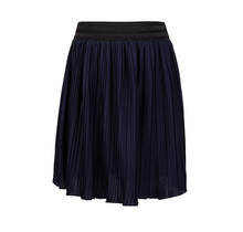 Indian Blue Jeans rok pleated night navy