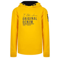 jongens trui hooded original egg yellow