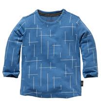 longsleeve Zael blue square