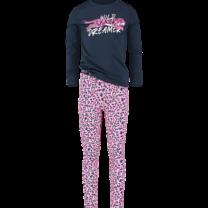 meisjes pyjama Wanneke neon pink