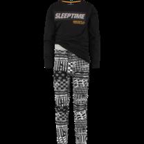jongens pyjama Wilmairo deep black