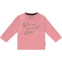 meisjes longsleeve Jacky charm pink