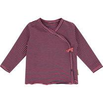 meisjes overslagshirt Jasmin charm pink