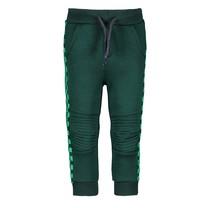 jongens broekje with quilted knee part botanical green