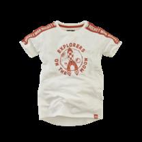 jongens T-shirt Vincent cream crush