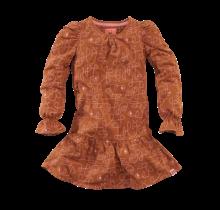 Z8 jurk Siske copper blush/aop
