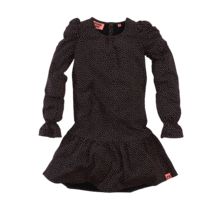 Z8 jurk Arleen beasty black/aop