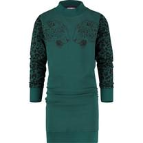 jurk Palloes deep green