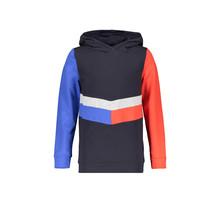 Bellaire trui Kako hooded contrast parts navy blazer