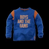 jongens trui Dennis brilliant blue