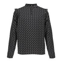 blouse Pixxie black/off white