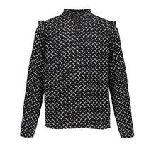 Frankie&Liberty blouse Pixxie black/off white