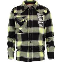 jongens blouse Linez deep black