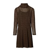 jurk Kaitlyn mid brown dot