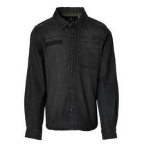 jongens blouse Kayno grey denim