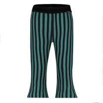 meisjes broek flare stripe