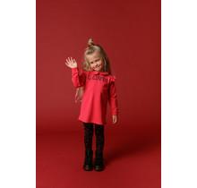 Beebielove jurk sweat collar pink