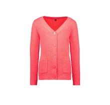 B.Nosy meisjes vest uni with contrast hairy pockets festival pink
