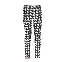 B.Nosy meisjes broek puzzle jaquard with solid backside maxi starwhite