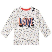 Longsleeve heart white