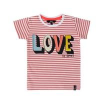 T-shirt love coral