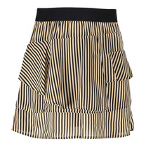 rok Pelli stripe D cream/black