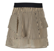 Frankie&Liberty rok Pelli stripe D cream/black