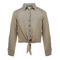 blouse Pelli stripe D cream/black