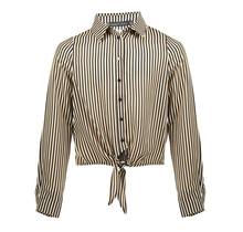 Frankie&Liberty blouse Pelli stripe D cream/black