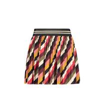 rok stripe velvet plisse stripe