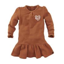 jurk Maitland copper blush