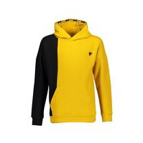 trui Kaso hooded mustard yellow