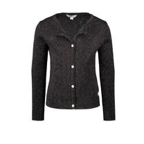 meisjes vest knitted black